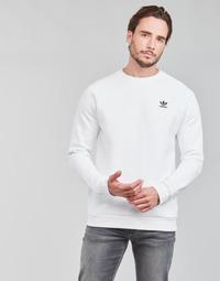 material Men sweaters adidas Originals ESSENTIAL CREW White