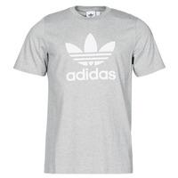 material Men short-sleeved t-shirts adidas Originals TREFOIL T-SHIRT Grey / Medium
