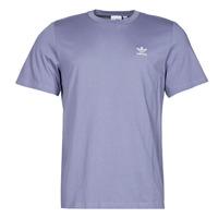 material Men short-sleeved t-shirts adidas Originals ESSENTIAL TEE Violet / Orbite