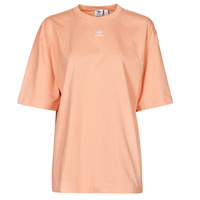 material Women short-sleeved t-shirts adidas Originals TEE Blush / Ambiant