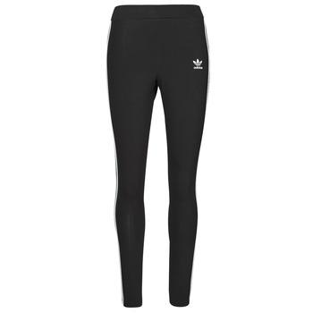 material Women leggings adidas Originals 3 STRIPES TIGHT Black