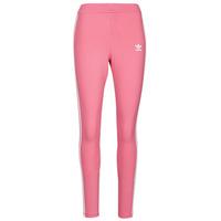 material Women leggings adidas Originals 4 STRIPES TIGHT Ton / Pink