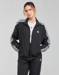 material Women Jackets adidas Originals TRACK TOP Black