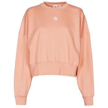 material Women sweaters adidas Originals SWEATSHIRT Blush / Ambiant