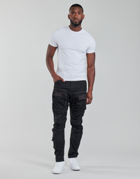 material Men Cargo trousers G-Star Raw 3D STRAIGHT TAPERED CARGO Black