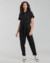 material Women Jumpsuits / Dungarees G-Star Raw ARMY JUMPSUIT SS Black