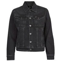 material Women Denim jackets G-Star Raw ARC 3D JACKET Black