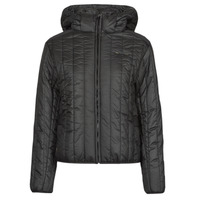 material Women Duffel coats G-Star Raw MEEFIC VERTICAL QUILTED JACKET Black
