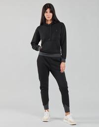 material Women sweaters G-Star Raw PREMIUM CORE HOODED SW WMN LS Black