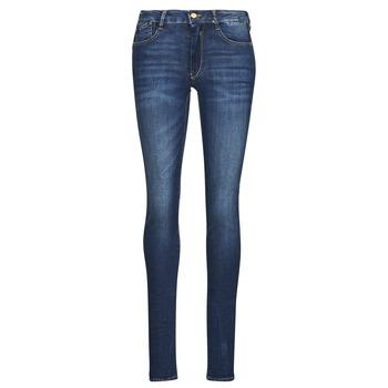 material Women slim jeans Le Temps des Cerises PULP HIGH OLBIA Blue