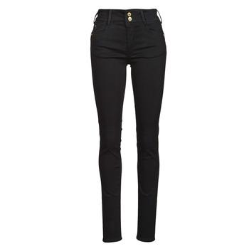 material Women slim jeans Le Temps des Cerises ULTRA PULP Black