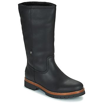 Shoes Women Mid boots Panama Jack BAMBINA Black