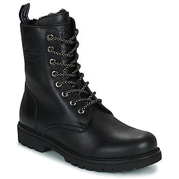 Shoes Women Mid boots Panama Jack FRISIA Black