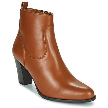 Shoes Women Ankle boots Betty London PETRA Cognac