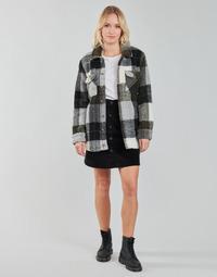 material Women Jackets / Blazers Volcom SILENT SHERPA JACKET Black