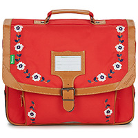 Bags Girl Satchels Tann's ANDREA CARTABLE 38 CM Red