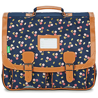 Bags Girl Satchels Tann's ALEXA CARTABLE 41 CM Marine