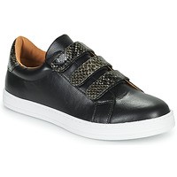 Shoes Women Low top trainers Moony Mood POLINE Black
