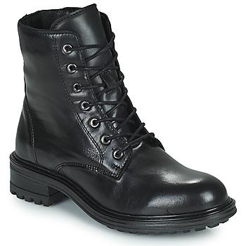 Shoes Women Mid boots San Marina CHAMAL Black