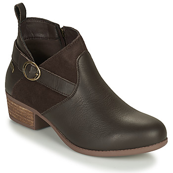 Shoes Women Ankle boots Skechers ARCH FIT LASSO/ Brown