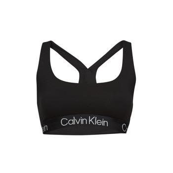 Underwear Women Sports bras Calvin Klein Jeans UNLINED BRALETTE Black