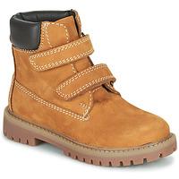 Shoes Boy Mid boots Citrouille et Compagnie PAXA Camel