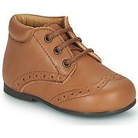 Shoes Children Mid boots Citrouille et Compagnie PAULO Camel