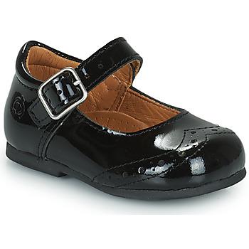 Shoes Girl Ballerinas Citrouille et Compagnie PULLO Varnish / Black