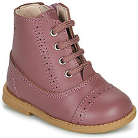 Shoes Girl Mid boots Citrouille et Compagnie PUMBAE Pink