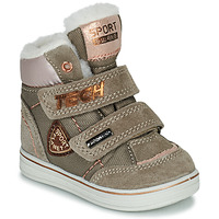 Shoes Girl Mid boots Citrouille et Compagnie PALADIN Taupe / Pink