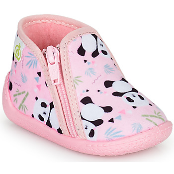 Shoes Girl Slippers Citrouille et Compagnie PIFOU Pink