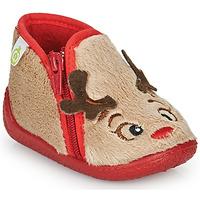 Shoes Children Slippers Citrouille et Compagnie PARFALLE Beige