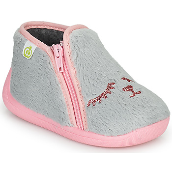 Shoes Girl Slippers Citrouille et Compagnie PRADS Grey