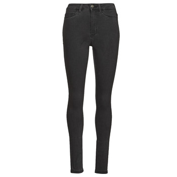 material Women slim jeans Noisy May NMCALLIE Grey