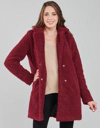 material Women coats Noisy May NMGABI Bordeaux