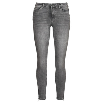 material Women slim jeans Noisy May NMKIMMY Grey