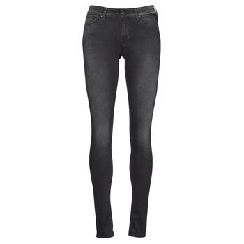 material Women Skinny jeans Replay LUZIEN Black