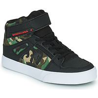 Shoes Boy High top trainers DC Shoes PURE HIGH-TOP EV Black / Camouflage