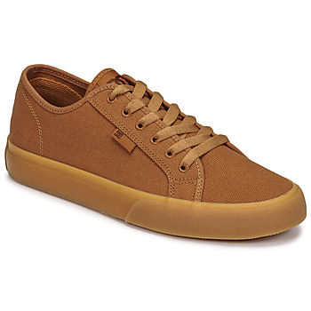Shoes Men Low top trainers DC Shoes MANUAL TXSE Brown