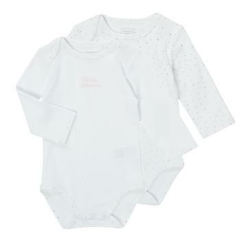 material Girl Sleepsuits Carrément Beau ANTHRACITE White