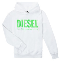 material Children sweaters Diesel SDIVISION LOGOX OVER White