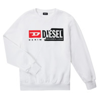 material Children sweaters Diesel SGIRKCUTY OVER White