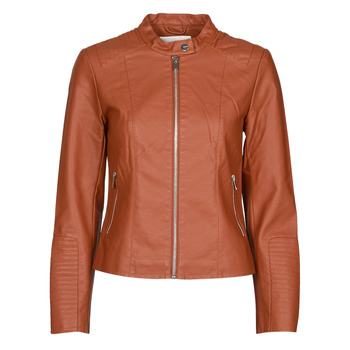 material Women Leather jackets / Imitation le Vila VIBLUE Rust