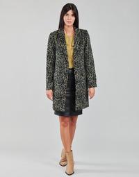 material Women coats Vila VILEOVITA Brown