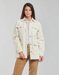 material Women Jackets / Blazers Vila VIOTAS Ecru
