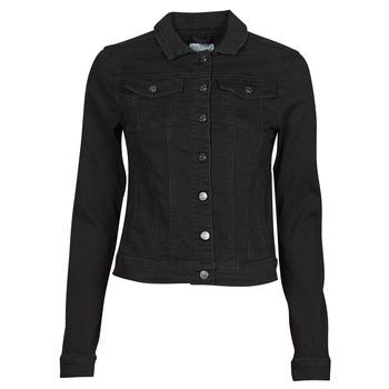 material Women Denim jackets Vila VISHOW Black
