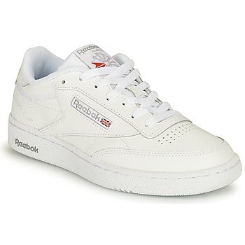 Shoes Low top trainers Reebok Classic CLUB C 85 White / Grey