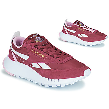 Shoes Women Low top trainers Reebok Classic CL LEGACY Bordeaux / White