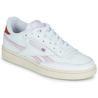 Shoes Women Low top trainers Reebok Classic CLUB C REVENGE White / Pink