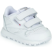Shoes Children Low top trainers Reebok Classic CL LTHR 2V White